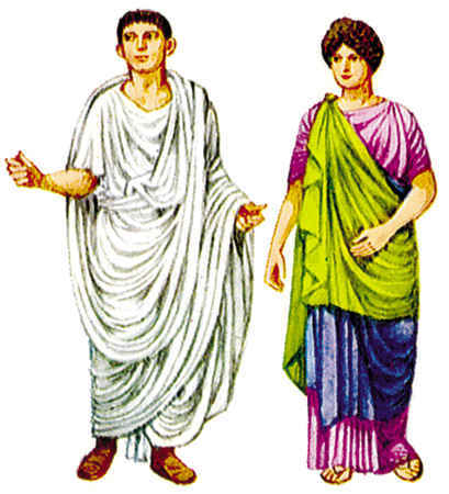 the production and cleaning garments in ancient rome